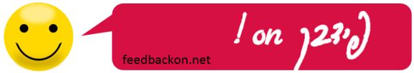 לוגו פידבקון ארוך עם כתובת